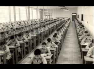 escuela años 60